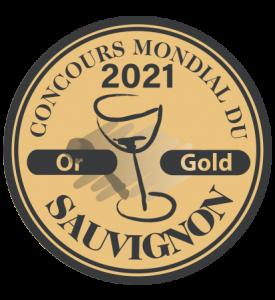 Médaille pour le Sauvignon du Domaine Bellevue